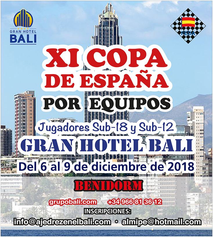 Nuestro Ajedrez en Europa en la XI Copa de España por equipos