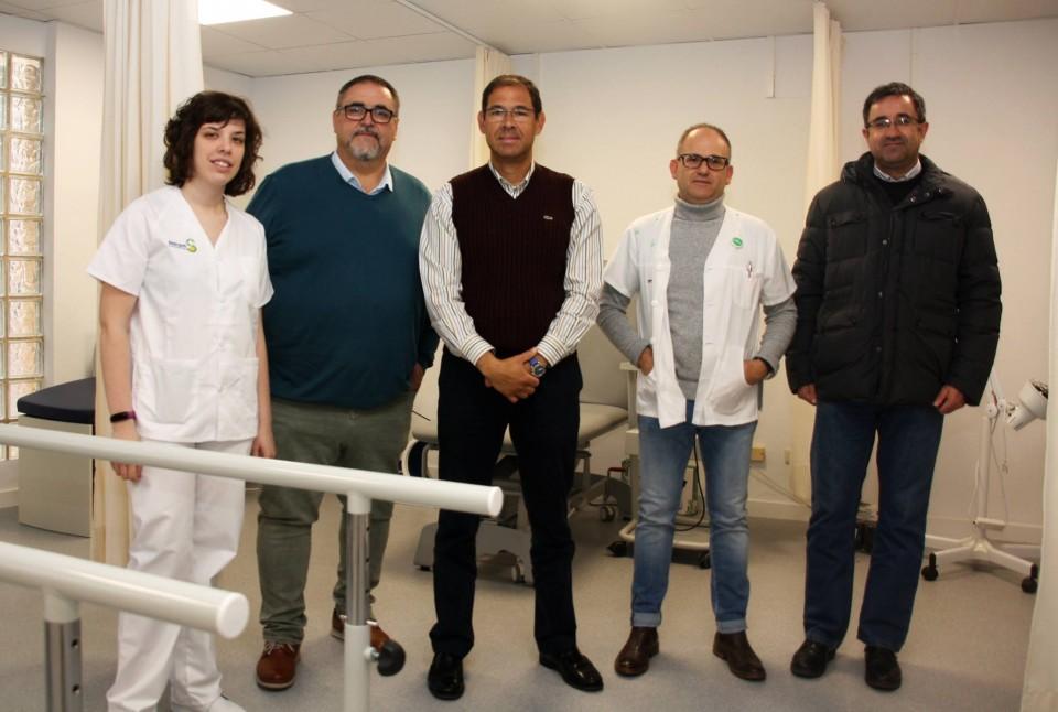 Nueva sala de Fisioterapia en Villafranca de los Caballeros
