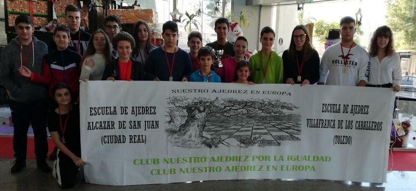 Nuestro ajedrez en Europa en la XII copa de España por equipos